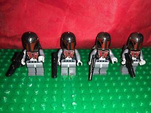 Star Wars Custom Blocks Mandalorian Super Commandos Darth Maul 75022 Lego Compat