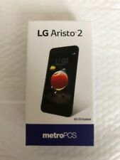 LG Aristo 2 LM-X210MA - 16GB - Black (MetroPCS) Smartphone.
