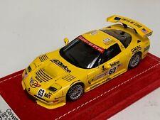 1/43 Minichamps Chevrolet Corvette C5R 2002 LeMans Car #63 Alcantara base A1097
