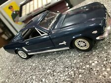 1/18 scale MIRA SOLIDO 1965 Ford Mustang Fast Back -  Blue Excellent Condition