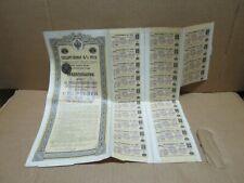 GOUVENEMENT IMPERIAL DE RUSSIE rente Russe au capital de 100 roubles 1921
