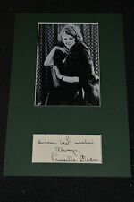 PRISCILLA DEAN signed Original Autogramm 20x30 In Person Passepartout / FRAMED