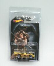 Hot Wheels Batman vs Superman Wonder Woman Power Pistons W/Protector New