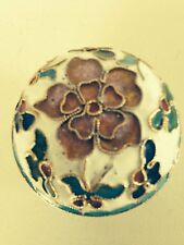 Chinese cloisonne trinket  box #1
