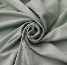 5 metres Soft Feel  Velvet Cord Corduroy  Quality Curtain Fabric  Mint Green