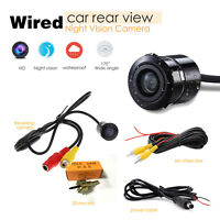 170° Back up Camera 480TVL Color Night Vision For Universal Car Truck ED
