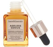 BARE MINERALS AGELESS GENIUS FIRMING & WRINKLE SMOOTHING SERUM 1 FL OZ❤AUTHENTIC