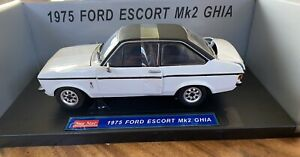 Sunstar Ford Escort MK2 Ghia 1:18 White.