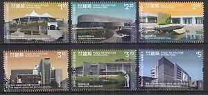 HONG KONG CHINA 2016 PUBLIC ARCHITECTURE IN HONG KONG COMP. SET OF 6 STAMPS MINT