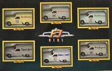 Trax Top Gear 1 64 Holden FJ News 6 Van Set TGS02