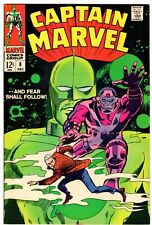 Captain Marvel #8 Early Carol Danvers (Ms. Marvel)! F+ (6.5) Gene Colan Cvr!