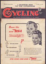 Vintage Cycling Magazine 16th June 1948 A Business Ride to The Cotswolds (BB 2)