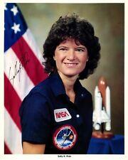 American Astronaut SALLY K. RIDE Signed Photo