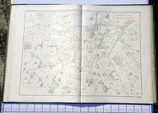Paris IX & X ème - Préfet POUBELLE Très Rare Plan de 1888 au 1/5000 (67 x 94 cm)