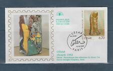 enveloppe  1er jour  tableau  le pouce de César   75 Paris   1997