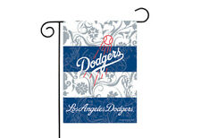 Los Angeles Dodgers 13x18 Premium Stitched 2-Sided Outdoor Garden Flag Banner