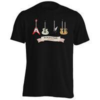 Rockstar Collection Guitar Music Art Novelty Men's T-Shirt/Tank Top c848m