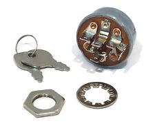 IGNITION STARTER KEY SWITCH w/ 2 Keys Cub Cadet MTD Troy-Bilt 725-1717 925-1717