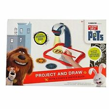Secret Life of Pets - Projector and Draw, Includes 3 Discs 24 Images