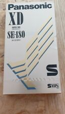 More details for panasonic xd se-180 super vhs tape,high quality,new&sealed,fast post