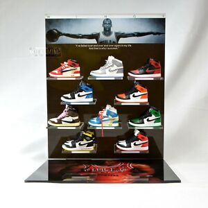 Ultimate Hypebeast Michael Jordan AJ Sneakers Display Set Best Sneakerhead Gifts