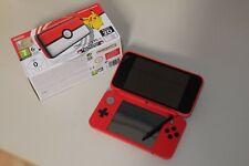 New Nintendo 2DS XL Rot Konsole Pokeball Edition in OVP Sehr gut erhalten