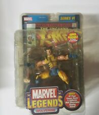 Marvel Legends Series VI Wolverine Unmasked Variant Toy Biz