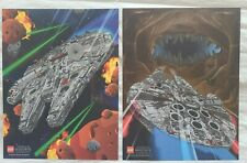 Lego Star Wars UCS Millennium Falcon Shop at Home Promotional Posters (2)
