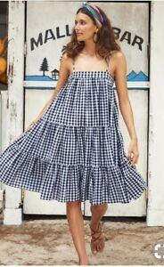 Mister Zimi Gingham Dress Size M