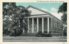 BEREA, Kentucky  KY   FEE MEMORIAL UNION CHURCH  Curteich    Postcard