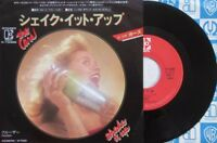 "THE CARS SHAKE IT UP JAPAN 7"" VINYL SINGLE RECORD"