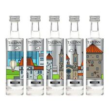 Art City Vodka Tallinn Platinum Collection 5x5cl Miniature Germany