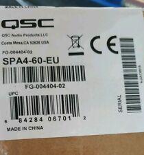 QSC AUDIO SPA4-60 fino a 4 canali amplificatore di potenza 60WPC 4/8 ohm
