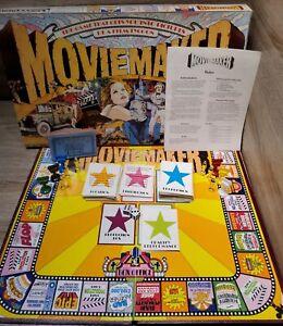 Vintage Movie Maker Board Game Parker Brothers 100% Complete Ga 18408