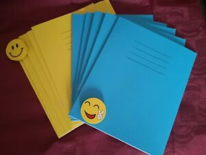 A4 10mm Square Maths Exercise Book 8mm A5 Lined 80 Pg Notebook 2 Pc Home School