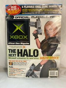 Official Xbox Magazine June 2002 Issue #7 Opened Seal w/ Exclusive Game Disc