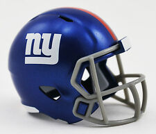 ***NEW*** NEW YORK GIANTS NFL Riddell SPEED POCKET PRO Mini Football Helmet