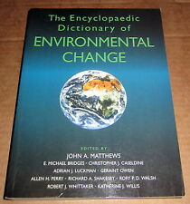 DICTIONARY of ENVIRONMENTAL CHANGE 7,000 Terms Concepts Defined Geology Oceans