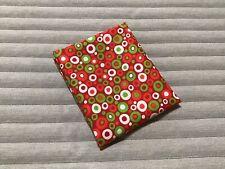Single Fat Quarter - Quilt Quality Fabric - Festive Polka Dot