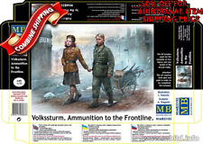 Master Box 35182 German Volkssturm, Ammunition to the Front Line WWII Model 1/35