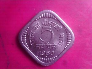 INDIA 5 PAISE 1960 MAY10