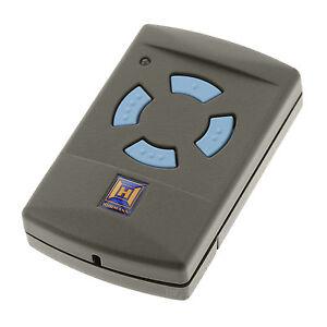 Hörmann Handsender HSM4 868 MHz 4 blaue Tasten Fernbedienung Gargentor Sender