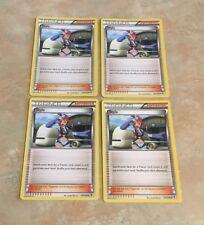 Pokemon 4 x Skyla Boundaries Crossed 134/149 Uncommon Nr Mint