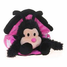 Happy Nappers Play Pillows Lady Bug Pink Black White House Pillow