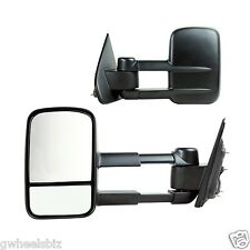 2014, 2015-2018 SILVERADO / SIERRA EXTENDABLE MANUAL TOWING SIDE MIRROR (PAIR)