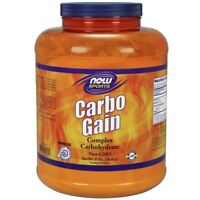 NOW Foods Carbo Gain 100% Complex Carbohydrate - 8 lb