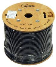 Low Loss 400 Coax 500' foot Spool reel RFC400 Cinta400 LMR-400 LMR400 Shireen