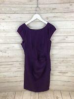 COAST Dress - Size UK14 - Purple - Great Condition - Women's