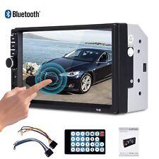 "2 DIN 7"" Car Touchscreen Bluetooth Stereo MP3 MP5 Player FM Radio USB TF 1080P"