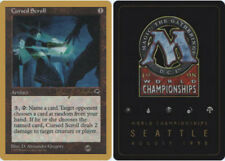 4x Cursed Scroll - Sideboard - Brian Hacker - 1998 Light Play, English World Cha